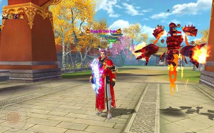 Không khí game Tân Thiên Long Mobile VNG náo nhiệt hơn hẳn khi update Hỏa Động Càn Khôn 7