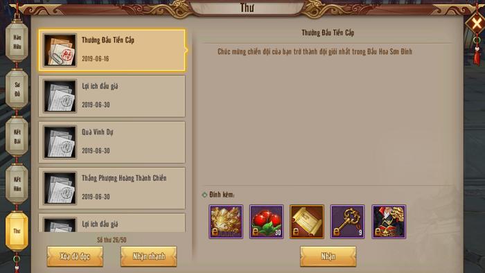 Tân Thiên Long Mobile VNG vinh danh tổ đội vô địch sự kiện Đấu Hoa Sơn Đỉnh Liên Server 4