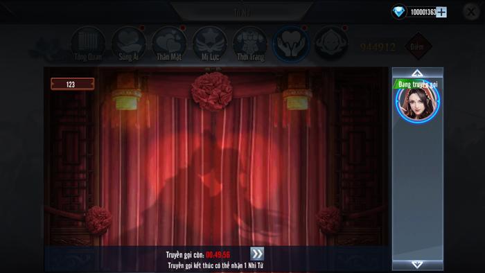 Cận cảnh tính năng lấy vợ sinh con của game chiến thuật Tam Quốc Vương Giả Mobile 3