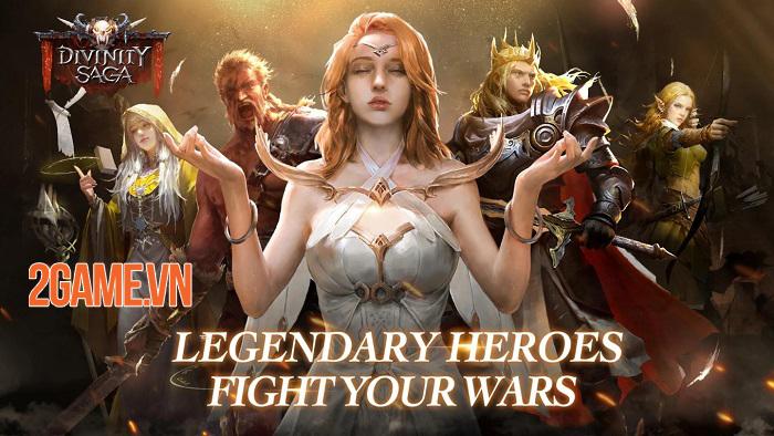 Divinity Saga - Game điều binh khiển tướng với lối chơi chiến thuật chuyên sâu 0