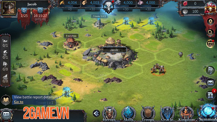 Divinity Saga - Game điều binh khiển tướng với lối chơi chiến thuật chuyên sâu 3