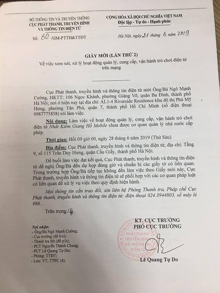 Nhiều game lậu ăn theo Nhất Kiếm Giang Hồ Mobile bị Pháp luật xử phạt 0