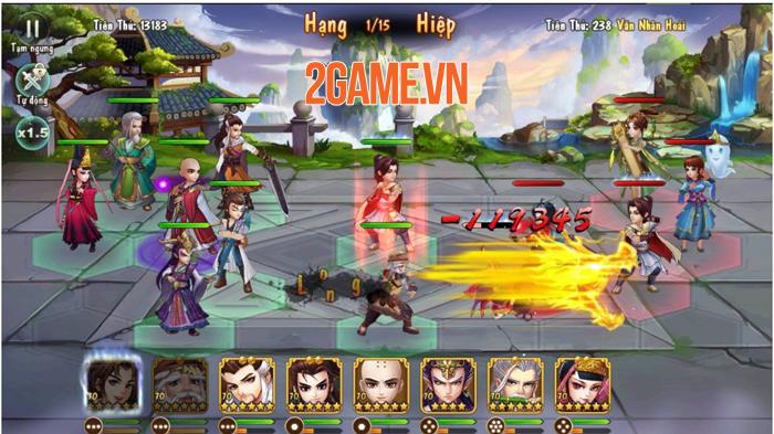 Game đấu tướng siêu chất Tiếu Ngạo VNG ấn định ngày thử nghiệm 1
