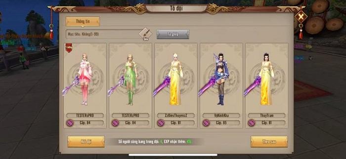 Đấu Hoa Sơn Đỉnh Liên Server - Hoạt động không thể thiếu trong Tân Thiên Long Mobile VNG 1