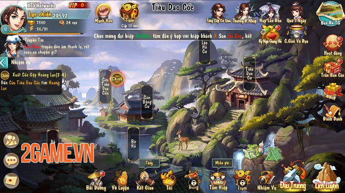 Đánh giá Tiếu Ngạo VNG: Game thẻ tướng kết hợp nhập vai thế giới mở tạo ấn tượng độc đáo 3