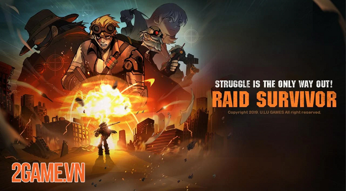 Raid Survivor - Game nhập vai đi cảnh sở hữu đồ họa 2D đậm chất hoạt hình 0