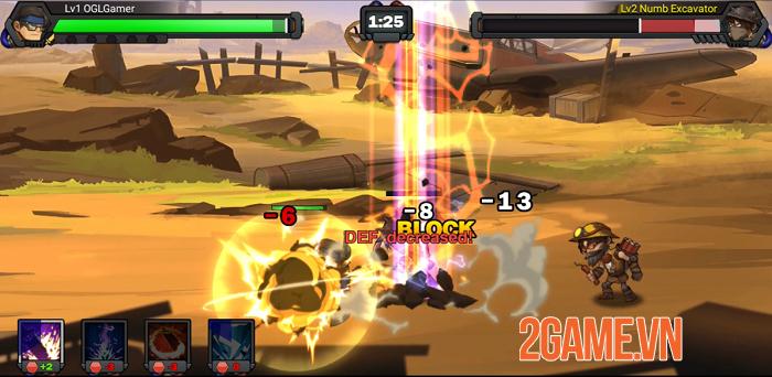 Raid Survivor - Game nhập vai đi cảnh sở hữu đồ họa 2D đậm chất hoạt hình 2