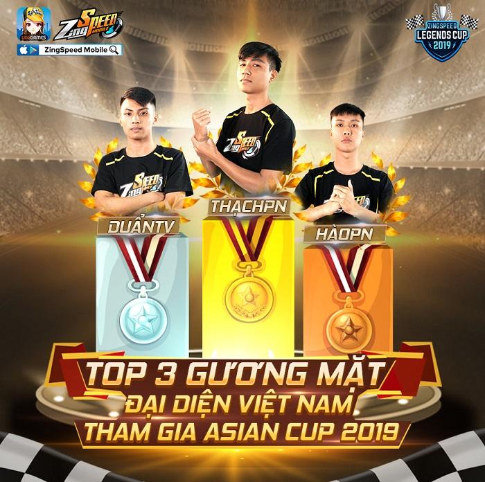 ZingSpeed Legends Cup 2019: Bệ phóng cho các tuyển thủ Việt tại Asian Cup 2019 0
