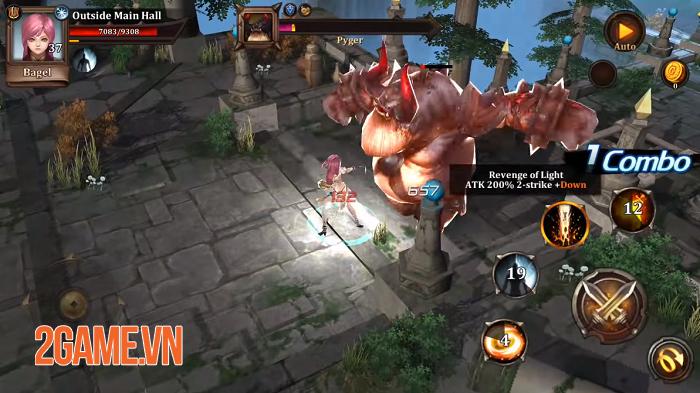Golden Knights Universe - Game thẻ tướng kết hợp nhập vai chặt chém đầy thú vị 3