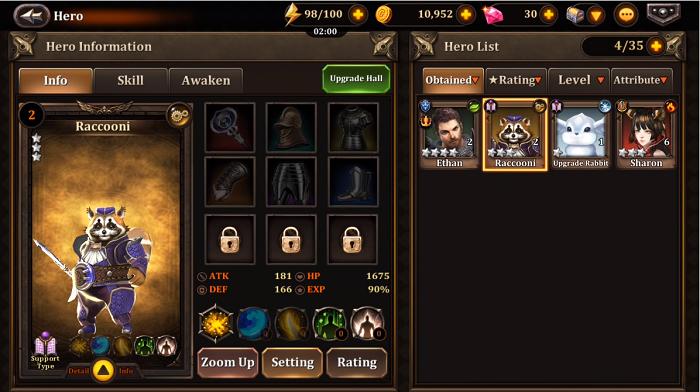 Golden Knights Universe - Game thẻ tướng kết hợp nhập vai chặt chém đầy thú vị 1