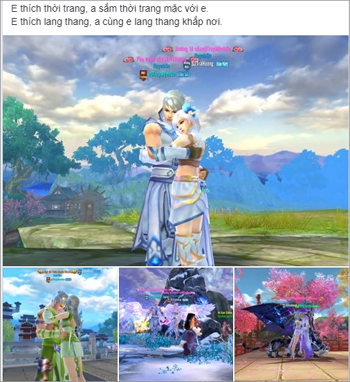Game thủ Tân Thiên Long Mobile VNG: