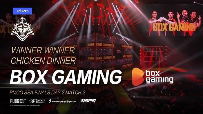 Box Gaming ngậm ngùi nằm ngoài top 4 tại Chung kết PMCO SEA 2019 2