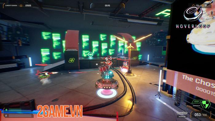 Hoverloop - Game loạn chiến sinh tử lấy bối cảnh tương lai hiện đại 2