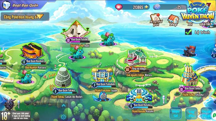 Game mobile Poke Huyền Thoại định ngày đến tay game thủ Việt 0