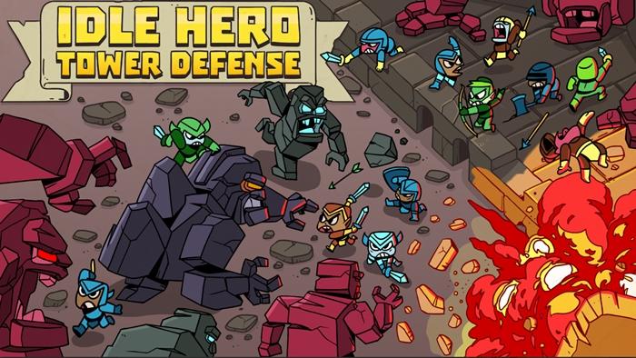 Idle Hero TD: Fantasy Tower Defense - Game thủ tháp dạng ủy thác chơi vô cùng cuốn hút 0
