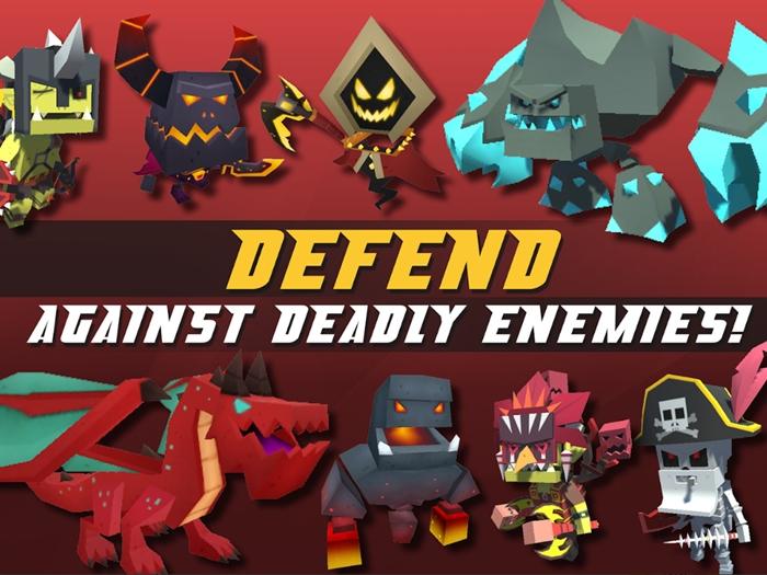 Idle Hero TD: Fantasy Tower Defense - Game thủ tháp dạng ủy thác chơi vô cùng cuốn hút 1