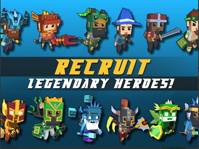 Idle Hero TD: Fantasy Tower Defense - Game thủ tháp dạng ủy thác chơi vô cùng cuốn hút 3