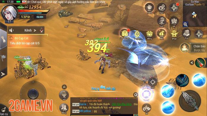 Trải nghiệm Lost Temple Mobile: Game nhập vai cốt truyện đạo mộ độc đáo 7