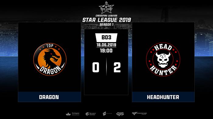 Head Hunter là đội tuyển được đánh giá cao nhất tại giải đấu Crossfire Legends Star League 2019 2