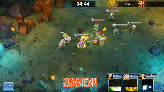 Trial of Fate - Game nhập vai đấu thẻ tướng có đồ họa 3D đẹp mắt 1