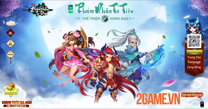 Phàm Nhân Tu Tiên H5 - Game tu tiên đa nền tảng cập bến Việt Nam 0