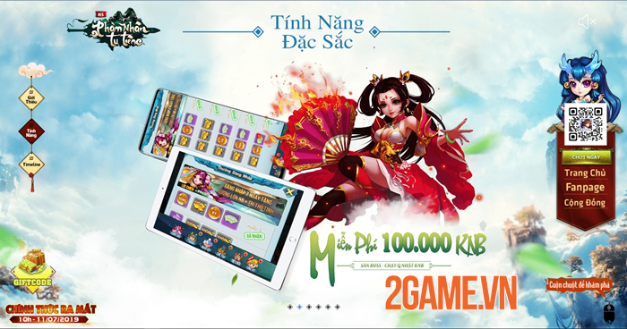 Phàm Nhân Tu Tiên H5 - Game tu tiên đa nền tảng cập bến Việt Nam 5