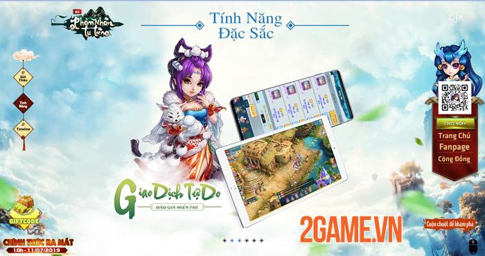 Phàm Nhân Tu Tiên H5 - Game tu tiên đa nền tảng cập bến Việt Nam 3