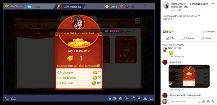 """Game thủ Danh Tướng 3Q VNG phát cuồng với hệ thống trò chơi """"nhân phẩm"""" 4"""