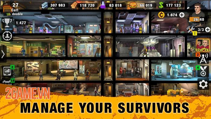 Zero City - Game sinh tồn kết hợp quản lý căn cứ trong bối cảnh zombie tràn ngập 3