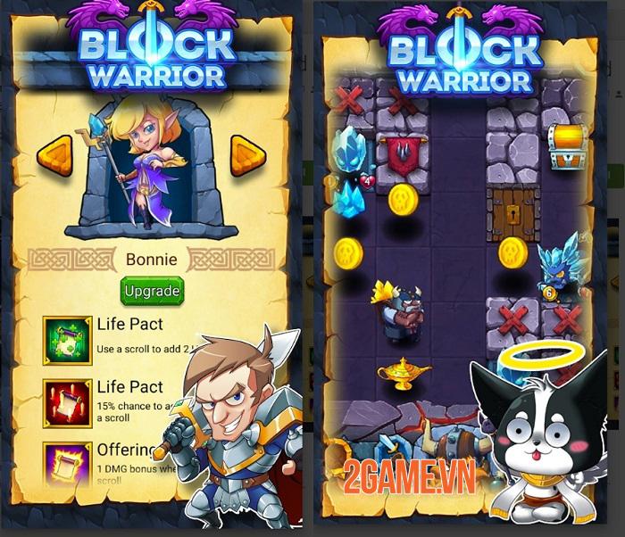 Block Warrior: Fight for Homeland - Game nhập vai khám phá hầm ngục độc đáo 1