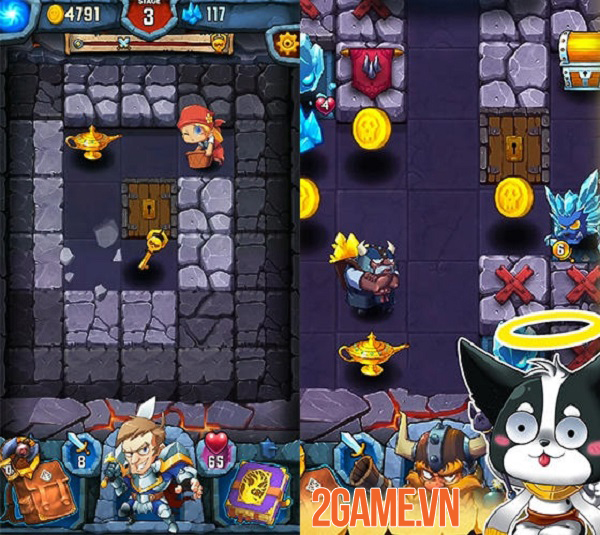Block Warrior: Fight for Homeland - Game nhập vai khám phá hầm ngục độc đáo 2