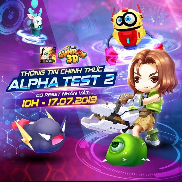 GunPow 3D tiếp tục khởi động đợt Alpha Test 2 và hoàn trả 100% thẻ nạp 2