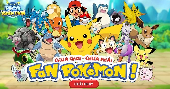 5 lý do khiến fan Pokemon không nên bỏ lỡ Pica Huyền Thoại Mobile 1