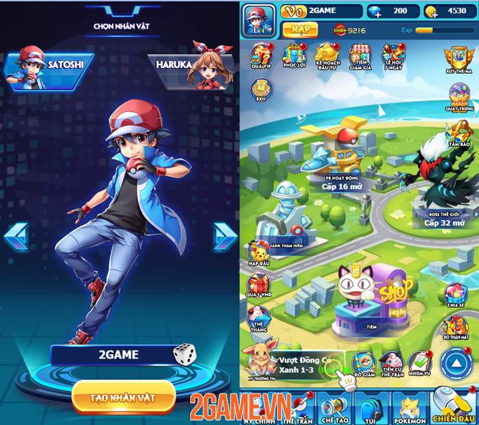 Chơi thử Bảo Bối GO: Lối chơi đấu Pokemon quen thuộc cho người dùng PC lẫn Mobile 0