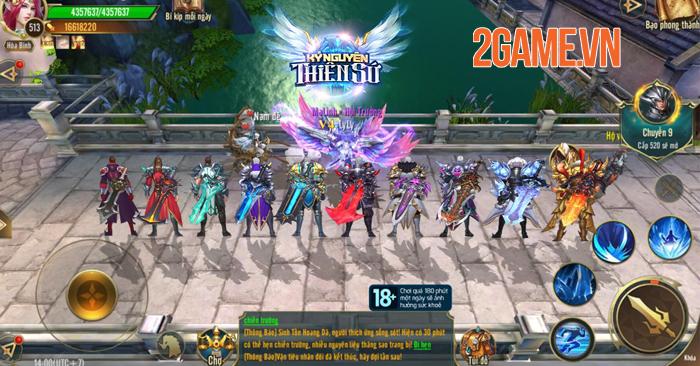 Kỷ Nguyên Thiên Sứ công bố ngày ra mắt bản Alpha Test có reset nhân vật 1