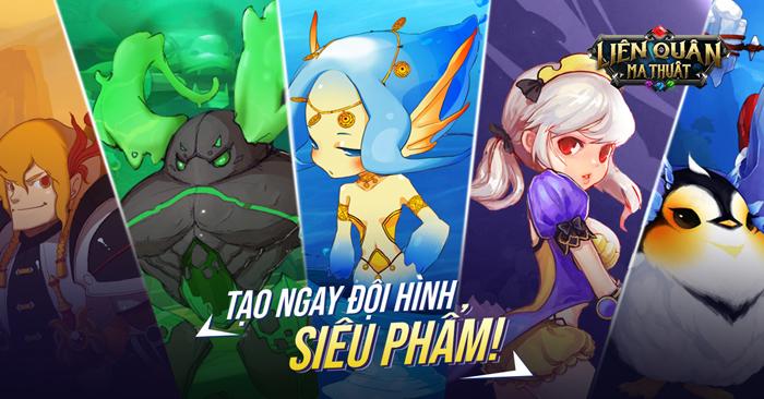 Liên Quân Ma Thuật chính là siêu phẩm game Idle RPG đến từ Hàn Quốc 1