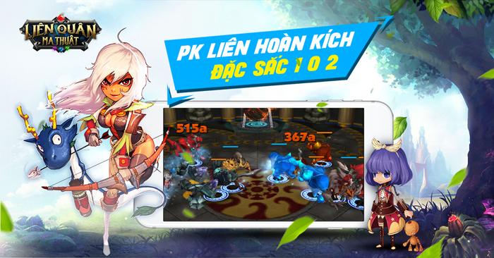 Liên Quân Ma Thuật chính là siêu phẩm game Idle RPG đến từ Hàn Quốc 2