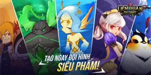 Liên Quân Ma Thuật chính là siêu phẩm game Idle RPG đến từ Hàn Quốc