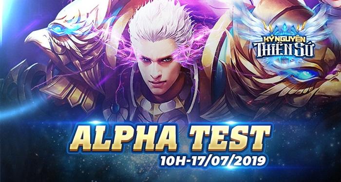 Kỷ Nguyên Thiên Sứ công bố ngày ra mắt bản Alpha Test có reset nhân vật 2