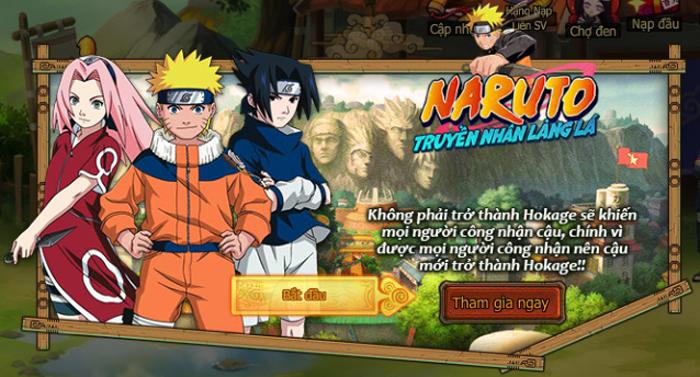 Naruto Truyền Nhân Làng Lá - Webgame thẻ tướng 3D hay ho ra mắt game thủ Việt 0