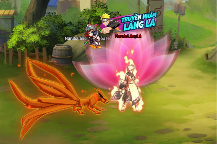 Naruto Truyền Nhân Làng Lá - Webgame thẻ tướng 3D hay ho ra mắt game thủ Việt 4