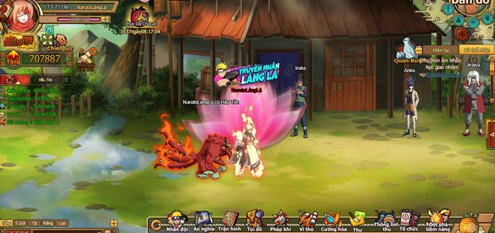 Naruto Truyền Nhân Làng Lá - Webgame thẻ tướng 3D hay ho ra mắt game thủ Việt 1