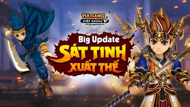 Yulgang Hiệp Khách khai mở server mới cho game thủ tận hưởng trọn vẹn Big Update 0