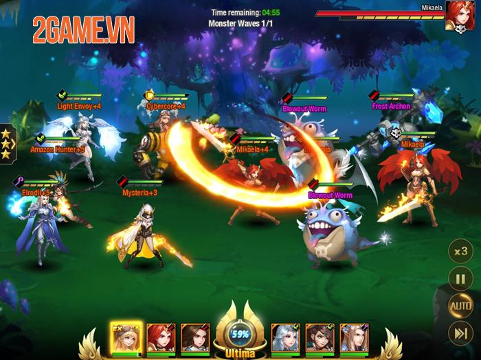 League of Angels - Paradise Land: Game mobile nhập vai độc đáo của vũ trụ LoA 0