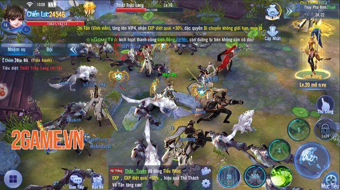 Kiếm Ma 3D vượt trên quy chuẩn của game kiếm hiệp thông thường 2