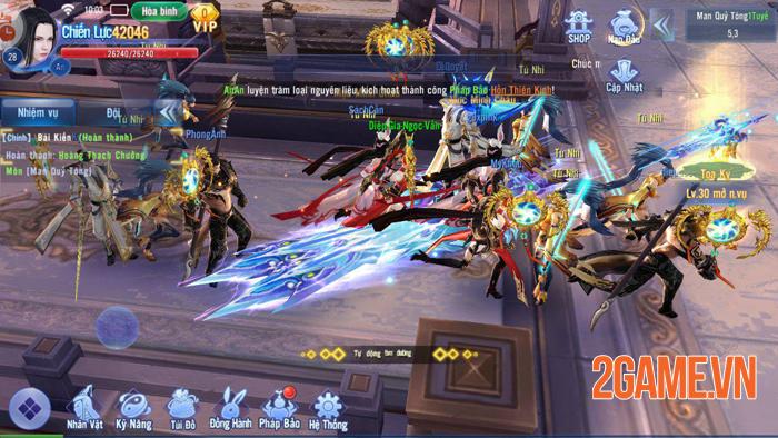 Kiếm Ma 3D vượt trên quy chuẩn của game kiếm hiệp thông thường 3