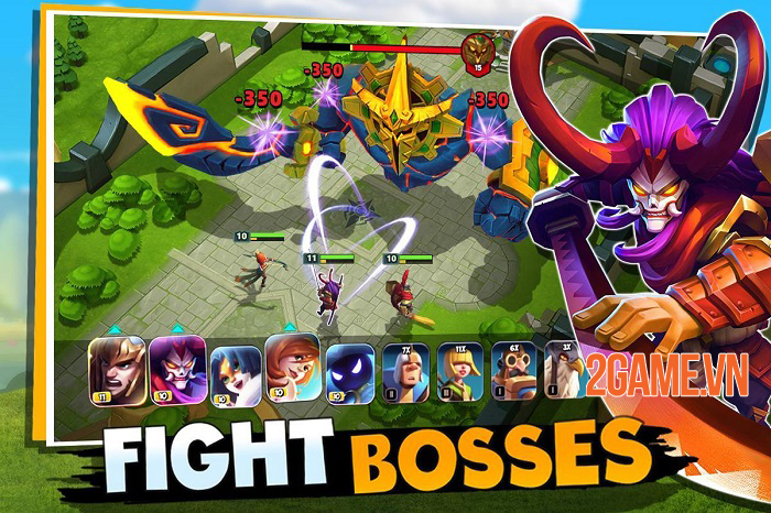 Castle Clash: New Dawn - Tựa game hội tụ nhiều yếu tố chiến thuật nổi bật 2