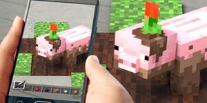 Minecraft Earth – Phiên bản game thực tế ảo của Minecraft