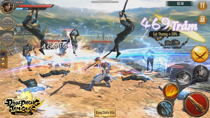 Đỉnh Phong Tam Quốc đưa tuổi thơ chiến game thùng, Playstation 2 trở lại trên mobile 4