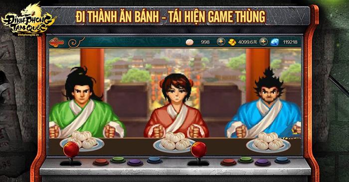 Đỉnh Phong Tam Quốc đưa tuổi thơ chiến game thùng, Playstation 2 trở lại trên mobile 3